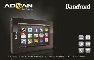 daftar harga tablet advan vandroid update november 2013 advan vandroid
