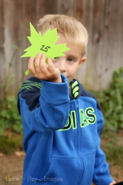 Preschool counting games for fall