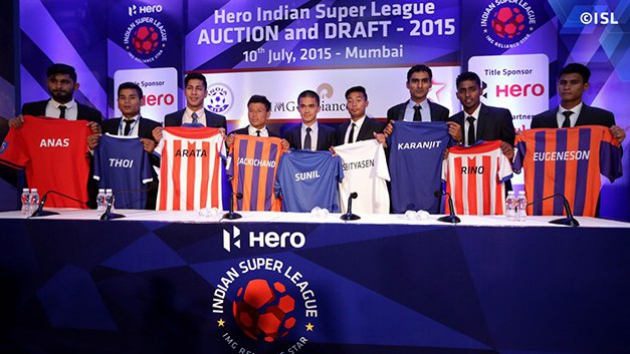 Hero Indian Super League 2015 Auction