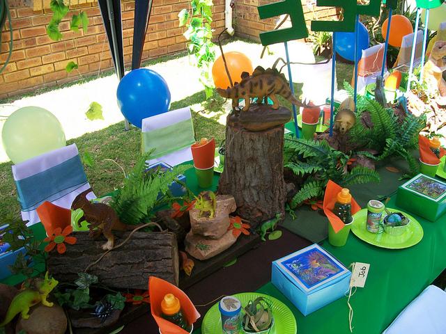 Fiesta de dinosaurios - Decoracion party ...