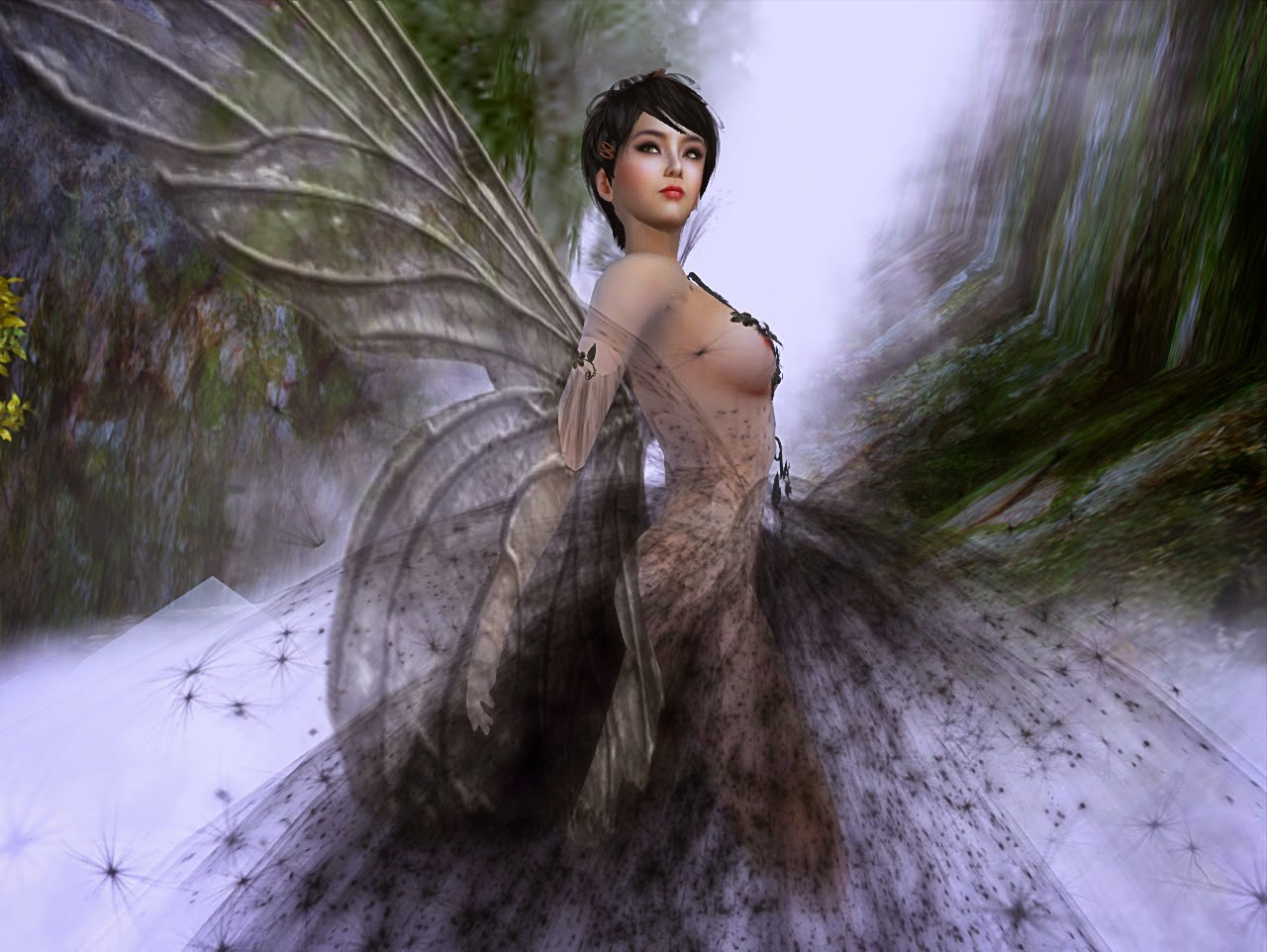 Mariko Nightfire: A Virtual Life: Mariko Magic: Faerie Myst