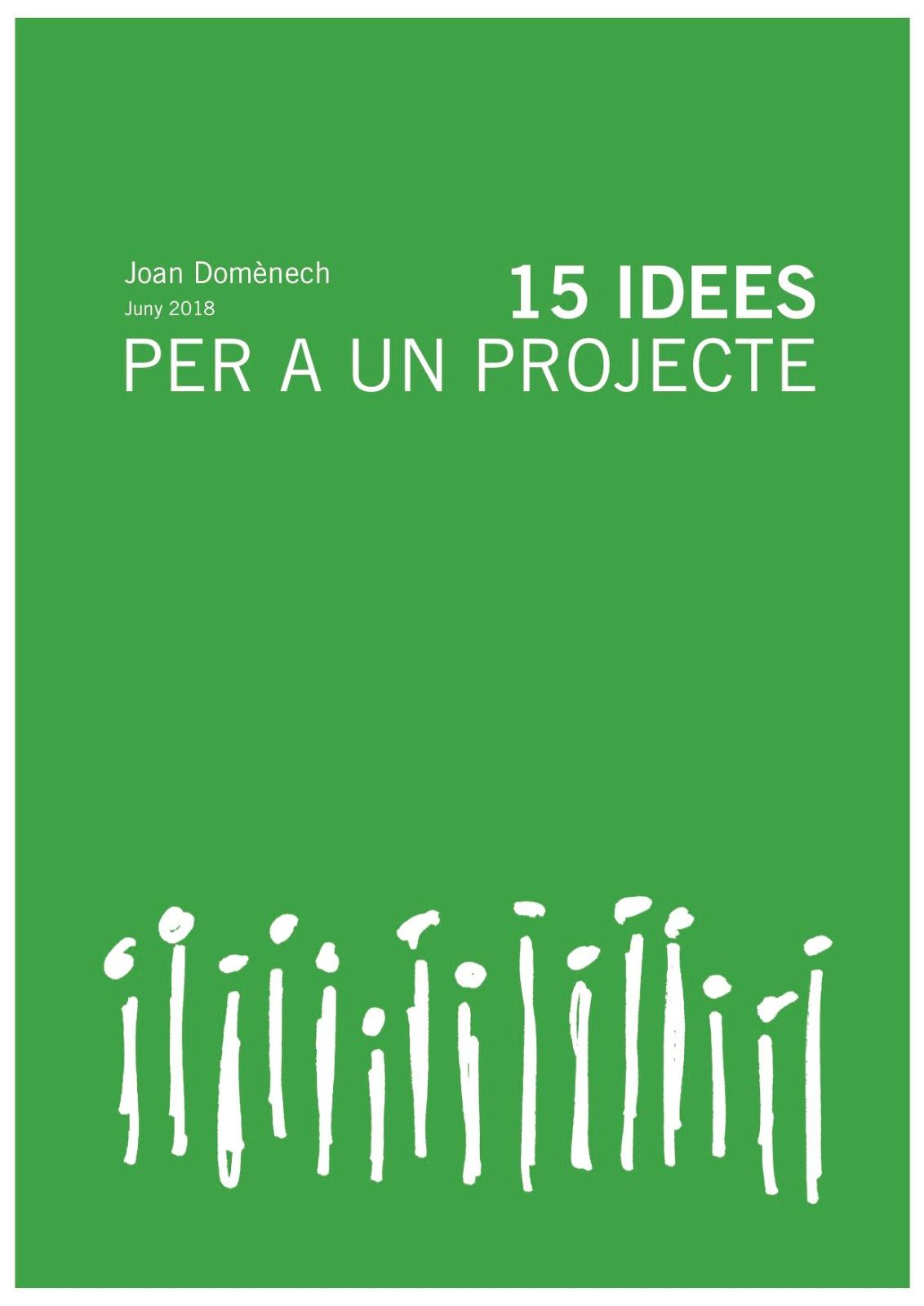 15 idees per a un projecte