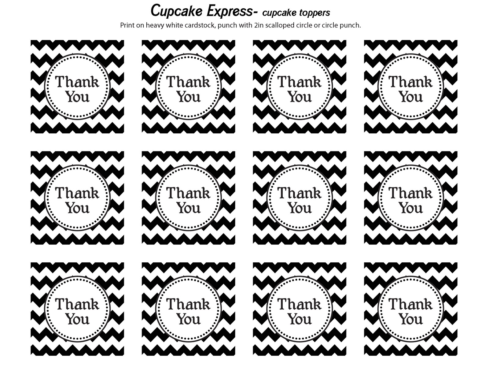 Free Printable Thank You Tags Free thank you tags