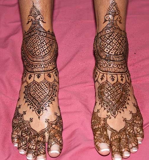 Bridal Mehndi Feet Design : Mehndi designs for hands indian bridal