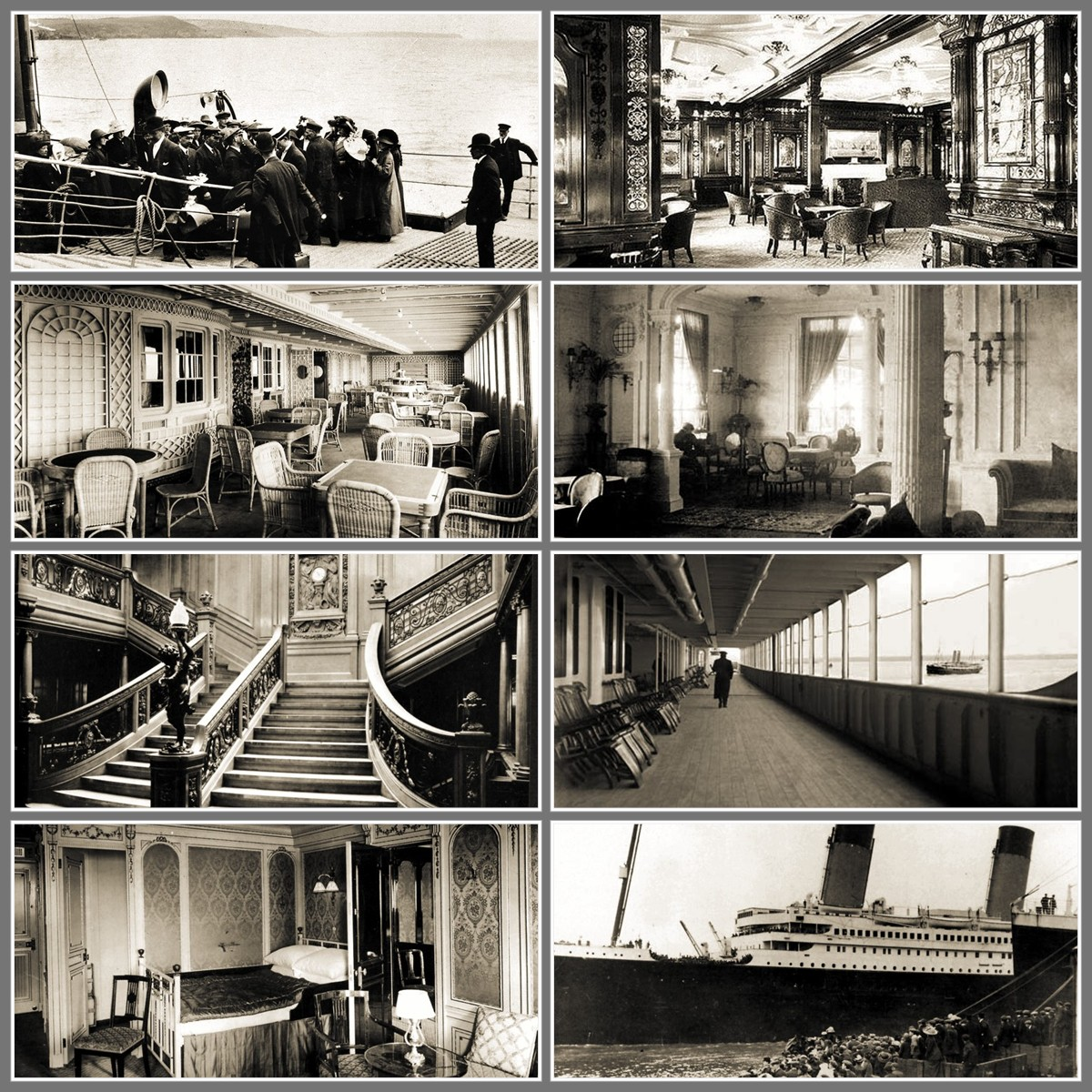 Inside Titanic 2: Recollections Of A Vagabonde: Reading About RMS Titanic