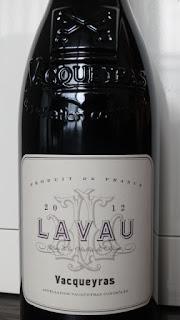 Lavau Vacqueyras 2012 - AC, Rhône, France (90 pts)