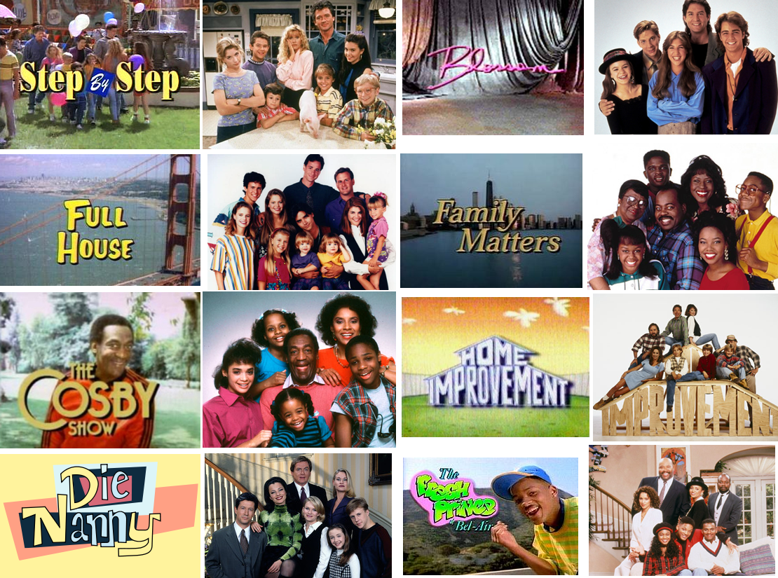 Tv shows 90 s past amp today