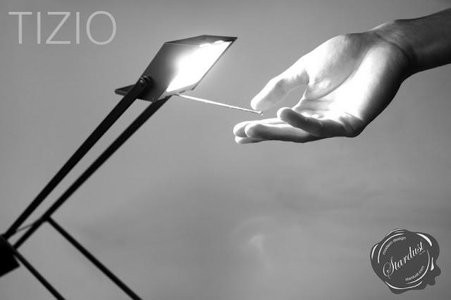 Artemide Tizio Lamp Detail as photographed by Edoardo Costa