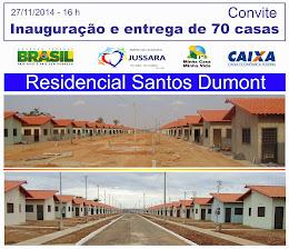 MAIS 70 CASAS SERÃO ENTREGUES