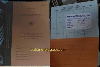 buku vaccine untuk umrah