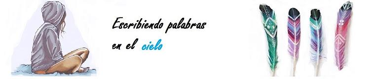 Escribiendo Palabras en el cielo♥