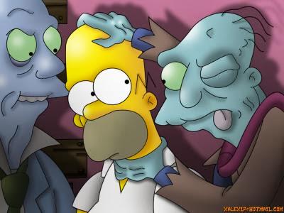 La Casita del Terror Simpson