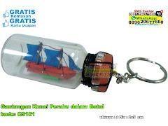 Gantungan Kunci Perahu Dalam Botol