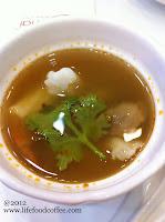 White seafood tomyam from lerk thai restaurant @ woodlands civic centre