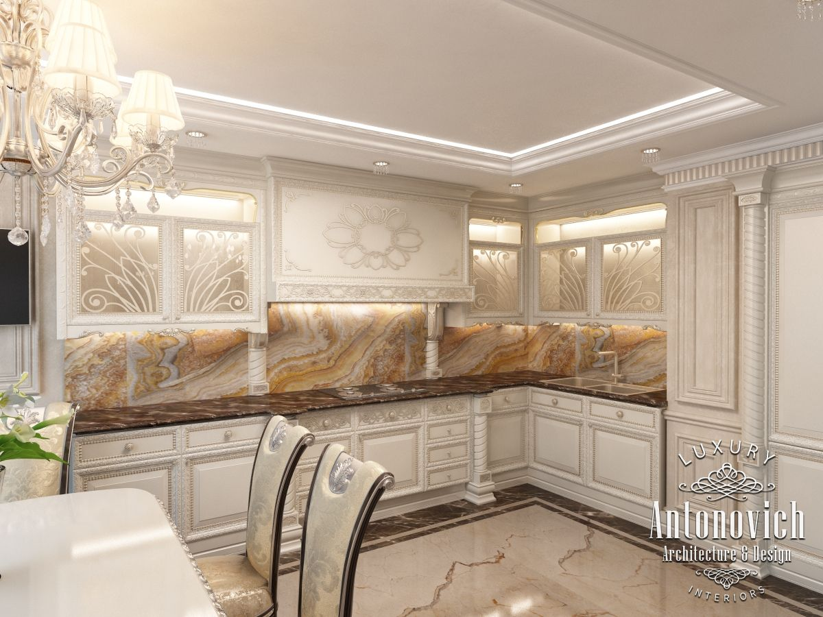 Kitchens dubai from antonovich design - Kitchen Design Has Become A Harmonious Continuation Of The Luxurious And Comfortable Apartment Interior In Dubai