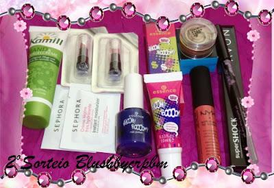 2º Sorteio do Blog blush by crpbm