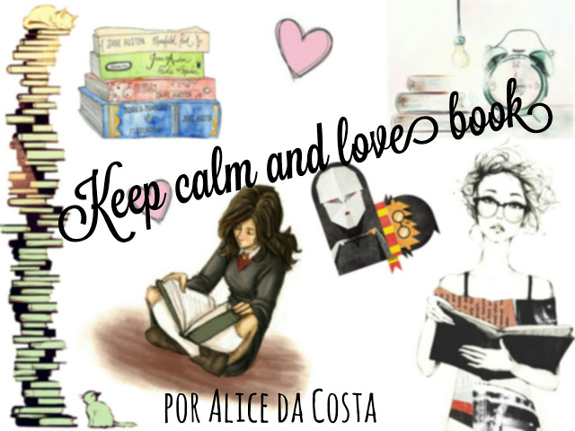 keep calm and love book