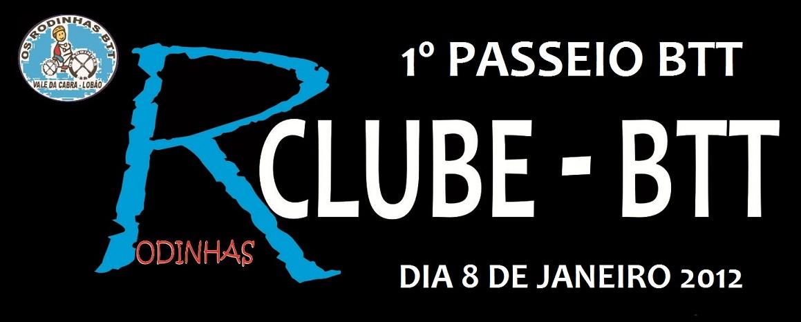 1º PASSEIO BTT R CLUBE - BTT