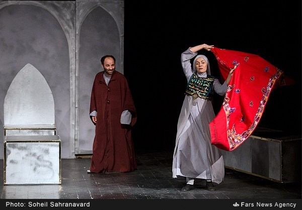 The Sound of Water is a theater drama now being played in theater hall of Shrine, in Iran. This play is being played daily except Saturday in a week, time starting is 6 PM, This play narrates the story of man who was warrior in Battle of Jamal, but now he is feeling temptation among followers of Yazid, the said story also describes the martyrdom of Abu Al Fazal Abbas A.S.