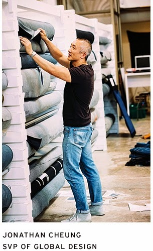Jonathan Cheung in 501 CT Jeans