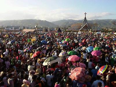 Milion flock to Saint Pedro Calungsod Thanksgiving ceremony