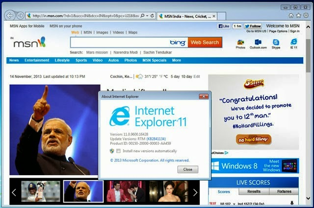 how to use internet explorer 11 offline