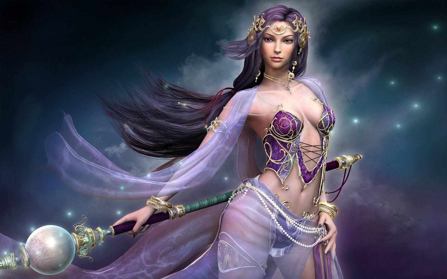 More Fantasy Women Art Wallpapers