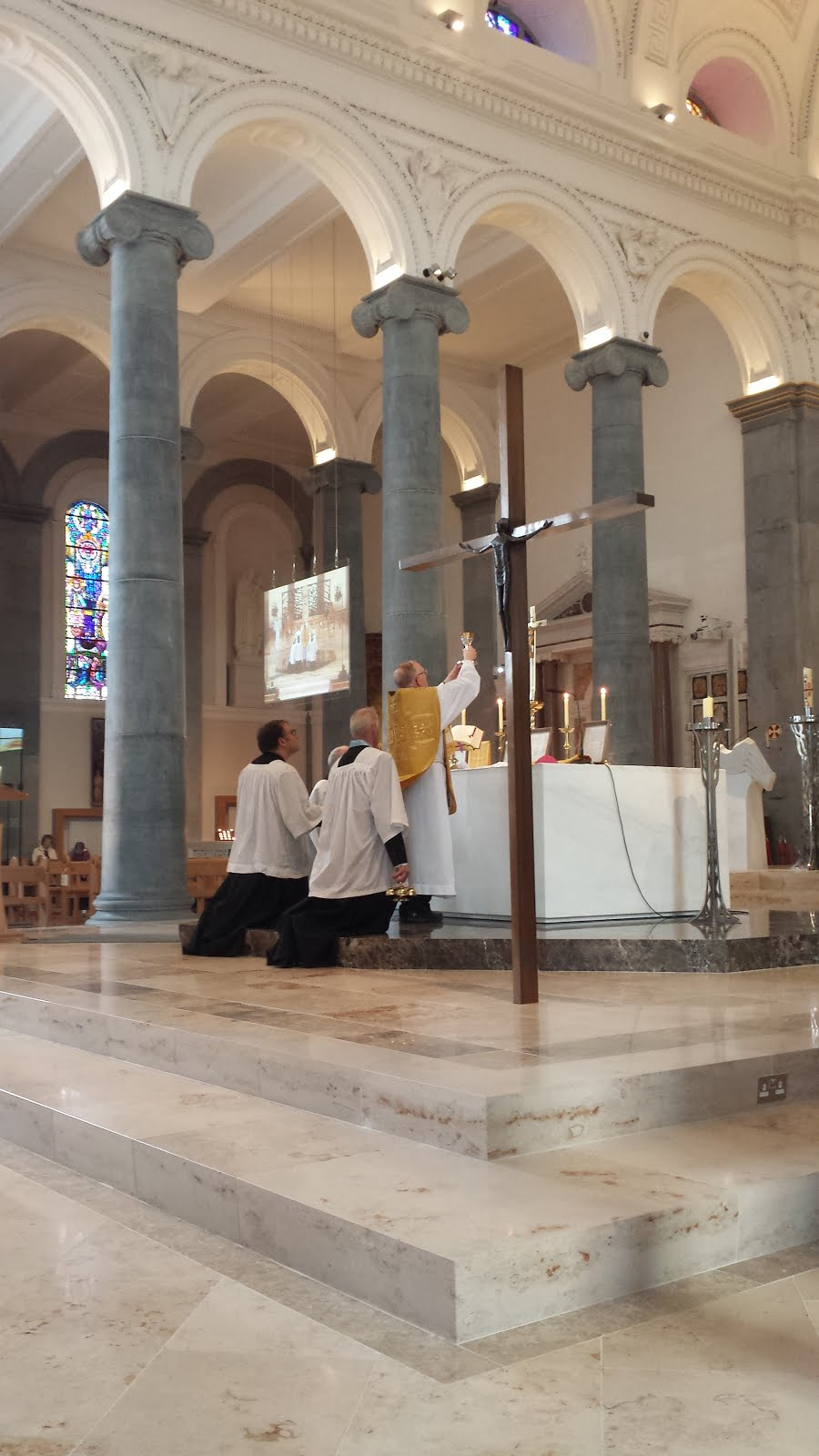 Traditional Latin Mass in Longford Cathedral