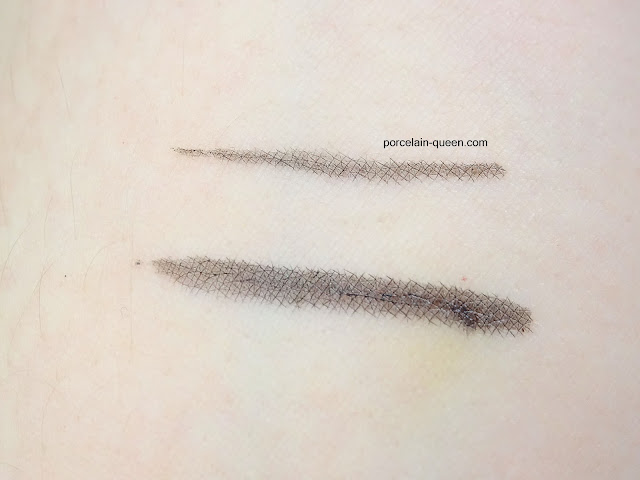 Essence Superfine Eyeliner Pen Swatch