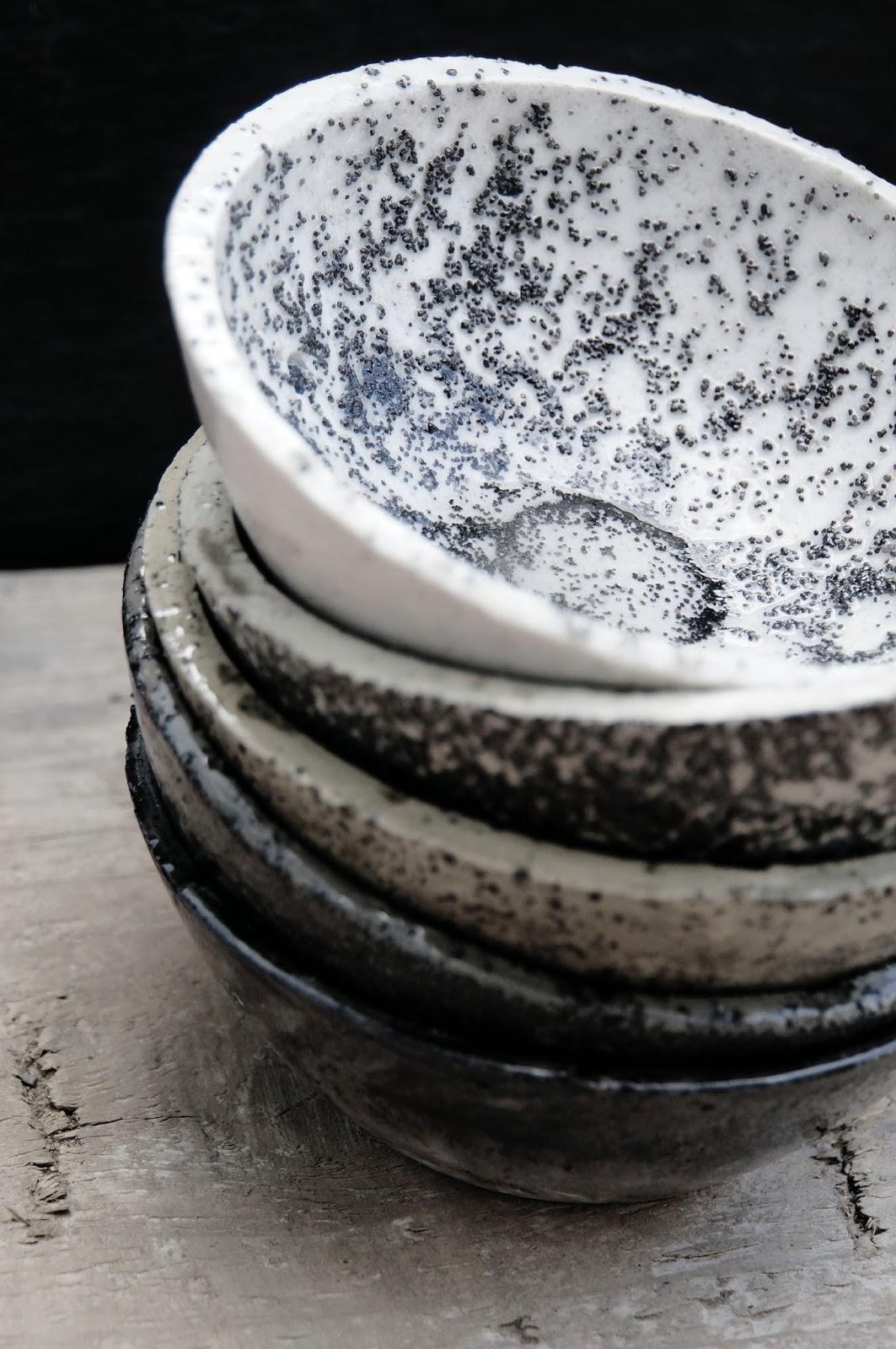 basteln malen kuchen backen: becher und schalen fürs bad, Hause ideen