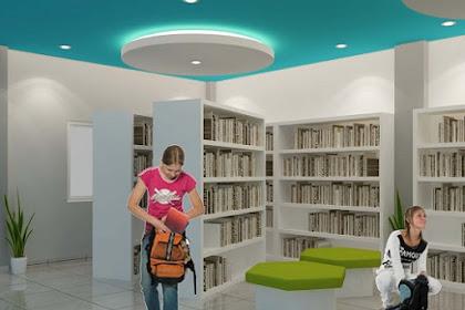 Jasa desain Interior Eksterior Perpustakaan