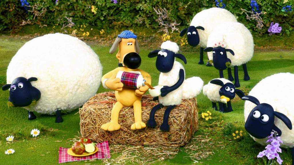 Wallpaper Shaun The Sheep