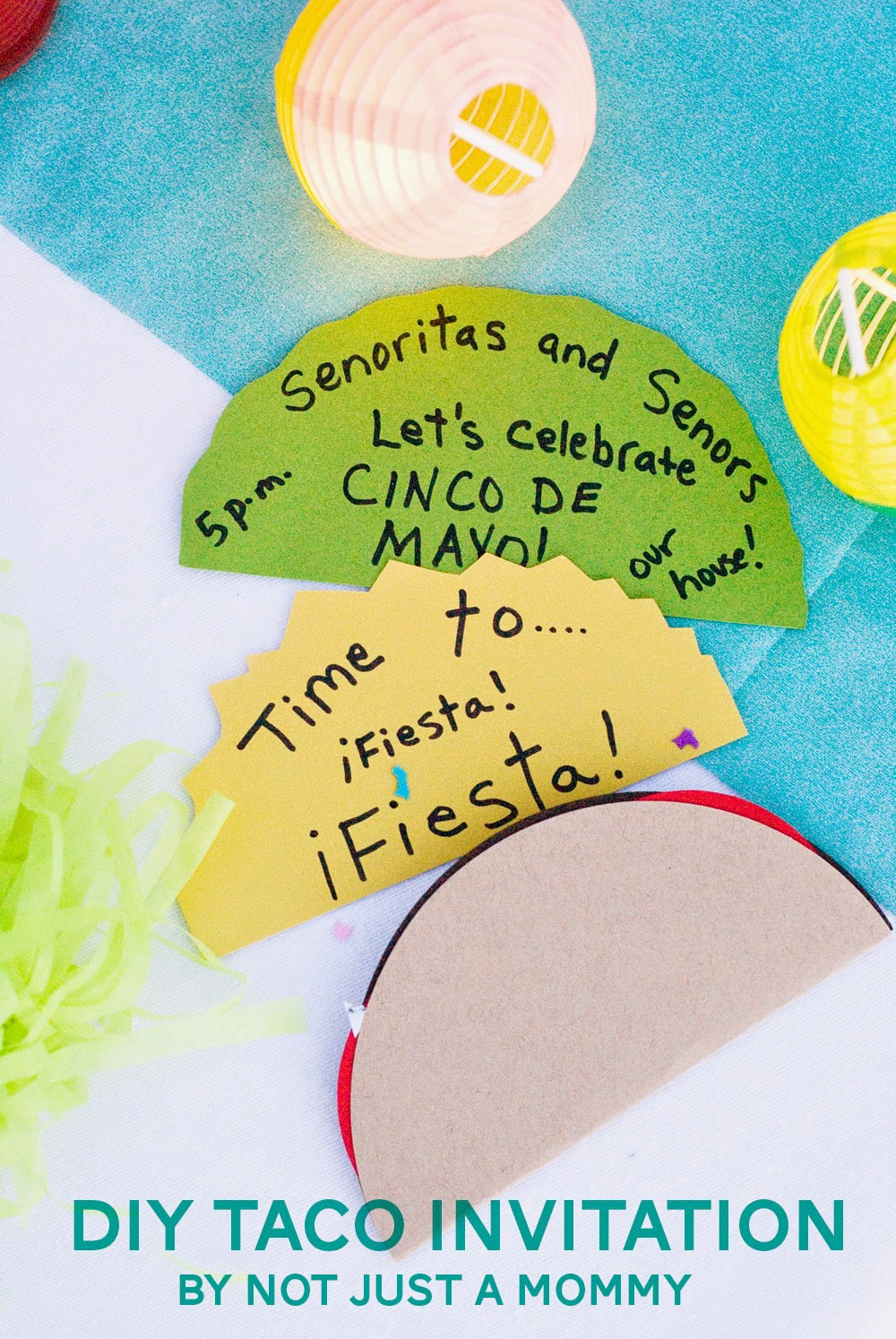The Party Hop: Summer Fiesta DIY Taco Invitation