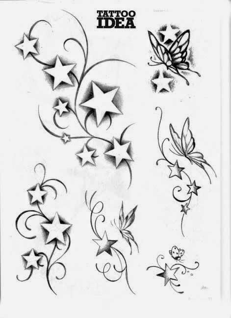 A la hora de escoger un tatuaje de estrellas los motivos pueden ser múltiples, desde el puramente estético al motivo de suerte. Para algunas personas el