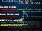 Teaching A.A. 2015/2016