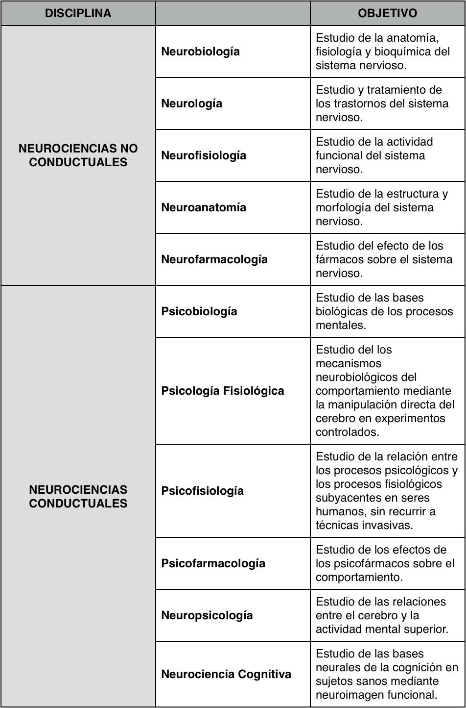 Neurociencia y Plasticidad Cerebral: 2012
