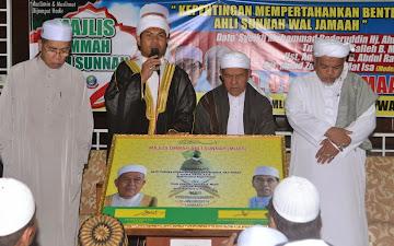 Majlis Ummah Ahli Sunnah ( MUAS ) dirasmi pada 10 Januari 2014