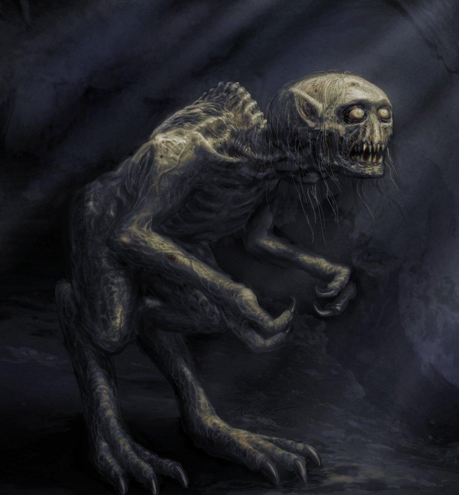 the lovecraft mythos bestiary by kl turner ghast