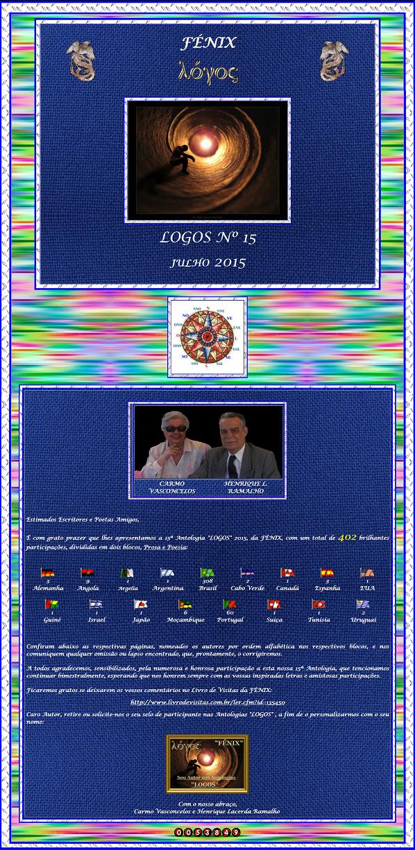 "D'Araújo: ""LOGOS 15"""