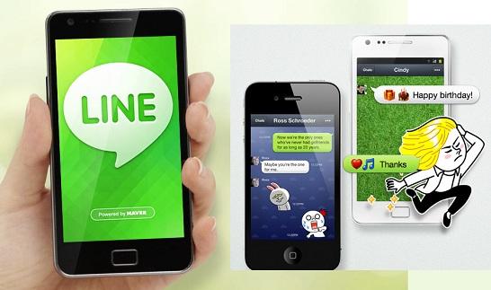 Line Naver App