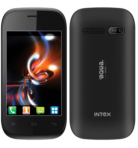 Intex Aqua Active Price, Features and Specifications