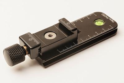 "Hejnar PHOTO E030-40 4"" Nodal Slide w/ F60 QR clamp"