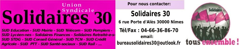 Solidaires 30