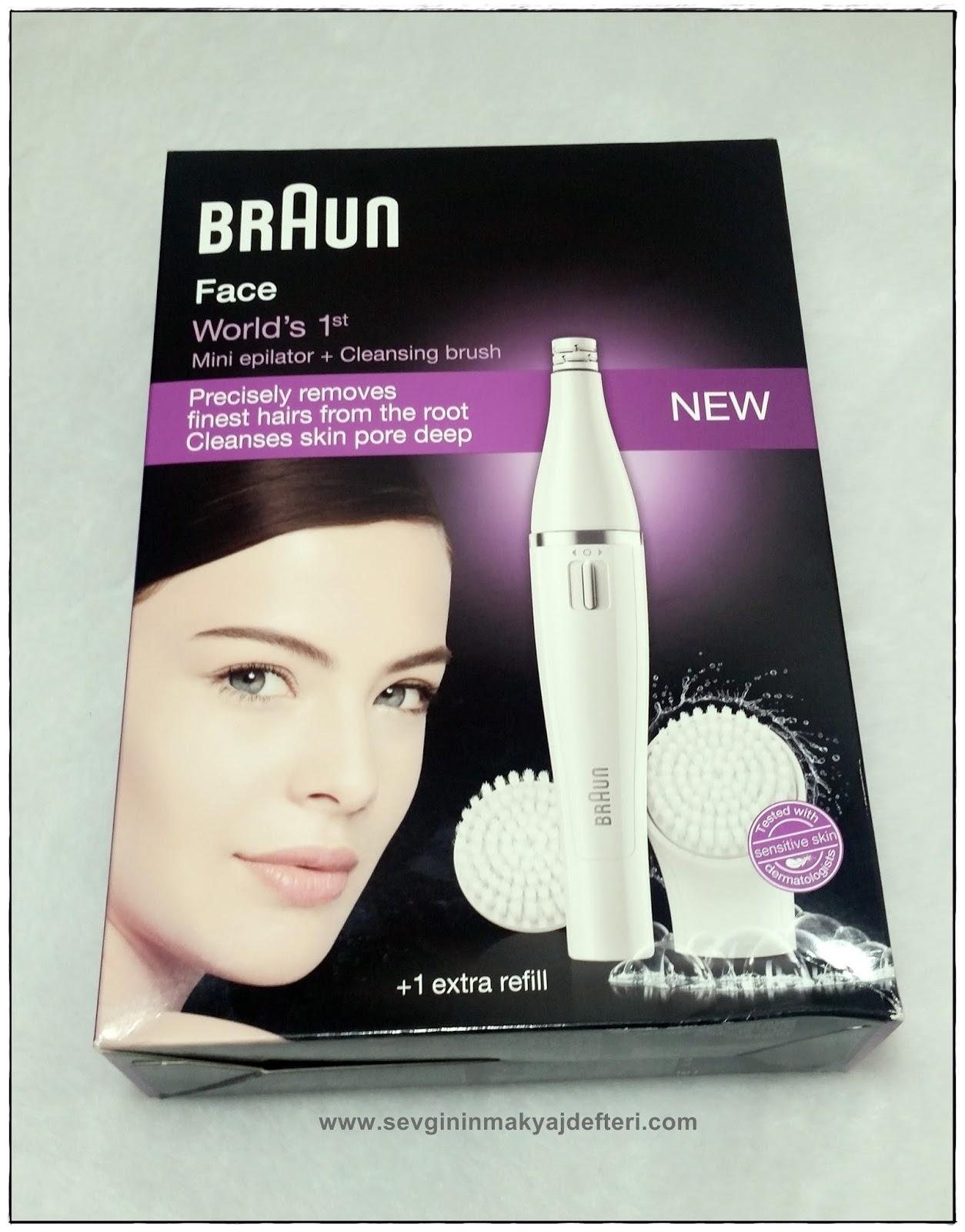 Braun Face Mini Epilatör & Cleansing Brush