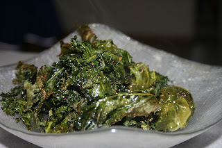 Oven Roasted Kale