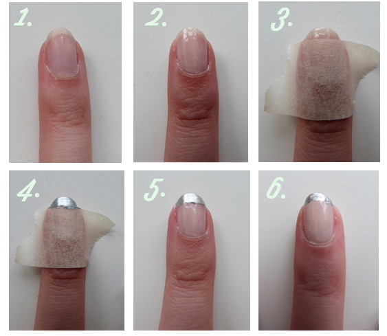 Step By Step Manicure