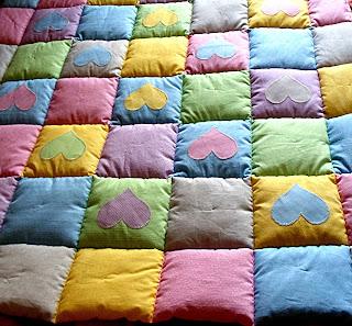 Как сшить и простегать одеяло 20