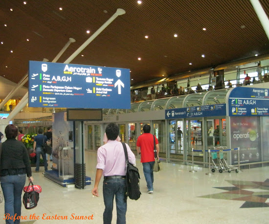 Kuala Lumpur Airport aerotrain