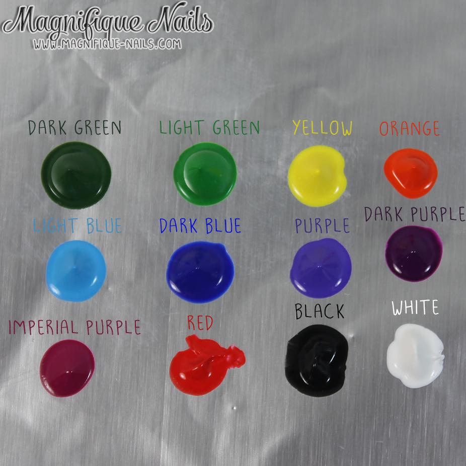 Magically Polished  Nail Art Blog : Sammy Dress: Oumaxi 12 Colors ...