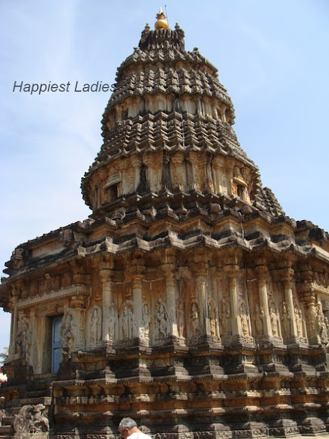 Sringeri Sri Vidyashankara Temple Tower+karnataka tourism